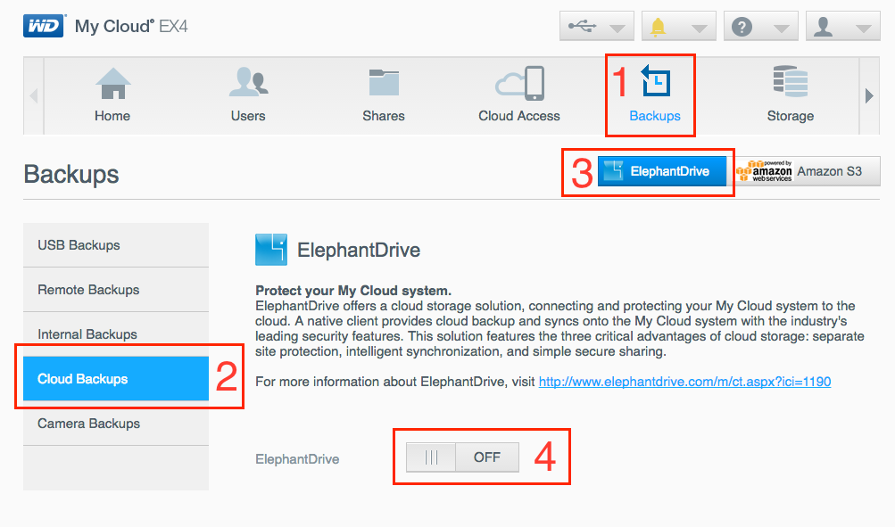 How do I link ElephantDrive and my WD NAS? – Help Center